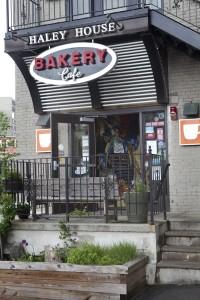 Bakery door